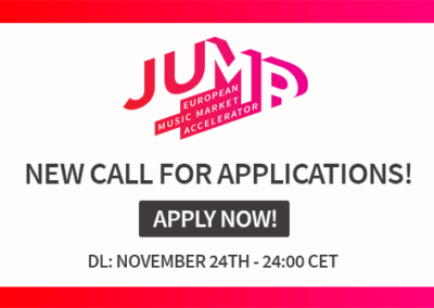 JUMP Call for Application 2020